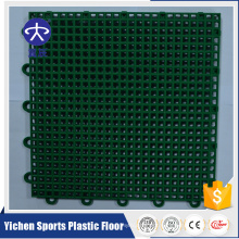 outdoor pp interlocking plastic basketball flooring