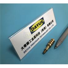 Torno automático de precisión CNC mecanizado de piezas de latón