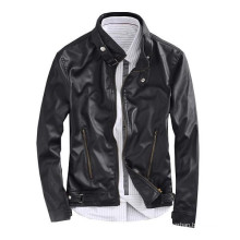 15PKPU02 2016 high quality men's winter hot sell leather jacket