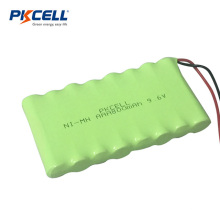 Aaa 800mAh bateria recarregável de 9,6V nimh