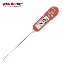 Termômetro de sonda de aço inoxidável para cozinhar cozinha doméstica