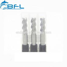 Fraise en carbure monobloc BFL pour le fraisage du tour en aluminium