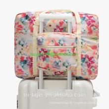Reisetasche für Frauen Faltbare Carry On Express Weekender Organizer