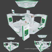 Detian offer 6x6 hanging banner expo stand exhibition display customize