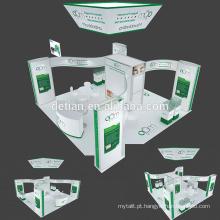 Detian oferecer 6x6 pendurado banner expo stand exibição de exposição personalizar