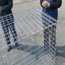 Wire Mesh Box Galvaniserad Gabion Basket Retaining Wall