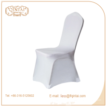 housse de chaise de banqet de couleur blanche et rouge de bonne qualité