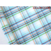 Checks Polyester Cotton Yarn Dyed Shirt Fabric Djx039