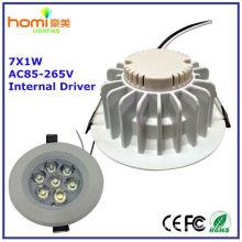 7W светодиодные потолочные светильники