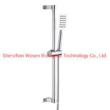 Shower Lift Bar Space Aluminum Hand Shower Bracket Fixed Rod Set
