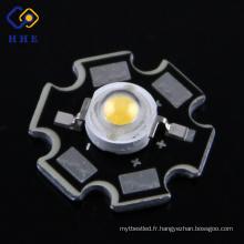 Type d'étoile de puce de la puissance élevée 1W / 3W LED Bridgelux
