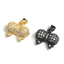 Fashion Bow Bownot Jewekry Pendentifs accessoires Pendentif avec CZ