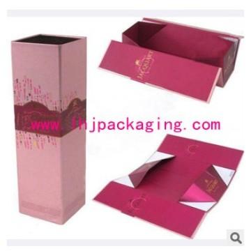 Caixa de presente de dobramento cosmética de empacotamento de luxo