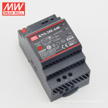 MEANWELL Europe type SELV CE KNX din rail 20W KNX power supply for knx actuator KNX-20E-640