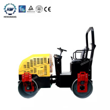 2 ton hydraulic double steel vibratory road roller  price