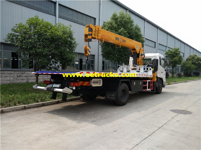 Dongfeng Wrecker Recovery Vehicles with Crane