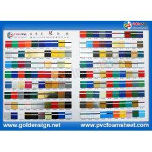 Feuille de couleur de double d'ABS pour le matériel de décoration d'Adversement