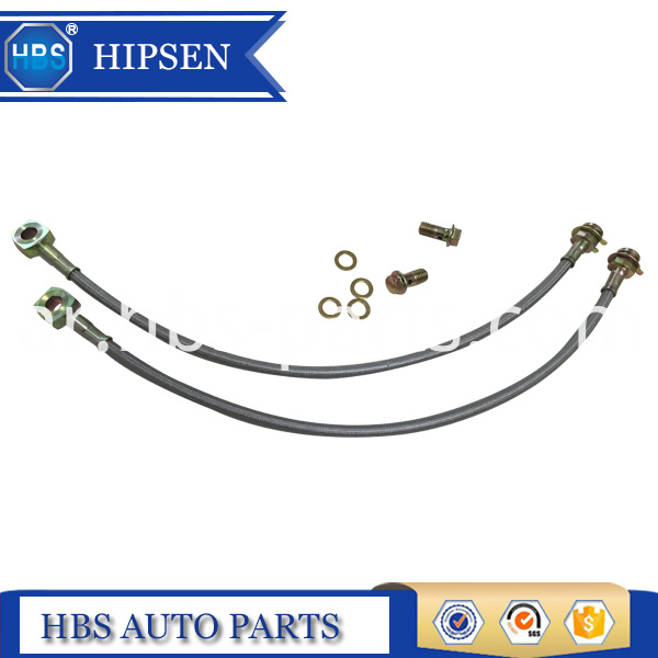 16 inch stainless steel brake hose