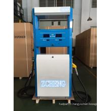 Station de remplissage Zcheng Distributeur de carburant à pompe double avec imprimante de billets