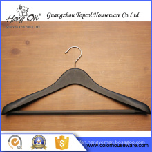 Luxury Wide Shoulder Common Style plastic hanger for clothes