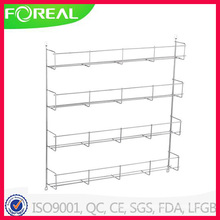 Metall Wire Cabinet Mounted Spice Rack