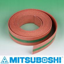 Mitsuboshi cinto plano cinto para máquinas têxteis e máquinas agrícolas. Feito no Japão (cinto plano infinito)