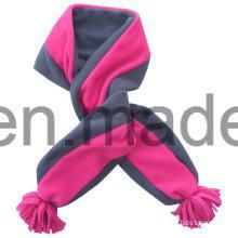 Hot Selling Lady Warm Knitting Polar Fleece Scarf