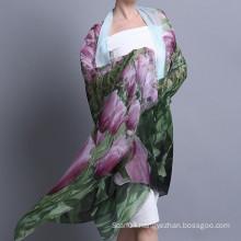 Fashion big size digital inkjet 100% modal scarf