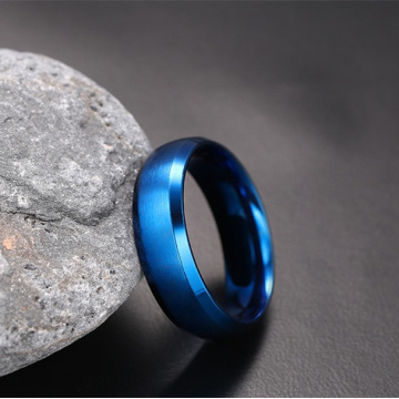 Monili all'ingrosso PVD Blue Plated Ring For Women