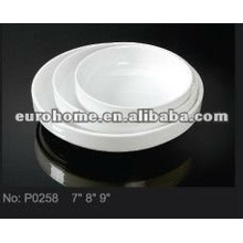 Plato de pastel de cerámica para reunión familiar P0258