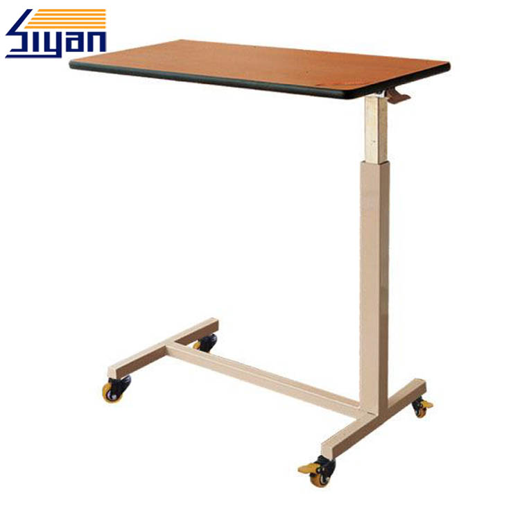 Table à manger à lit d'hôpital en MDF
