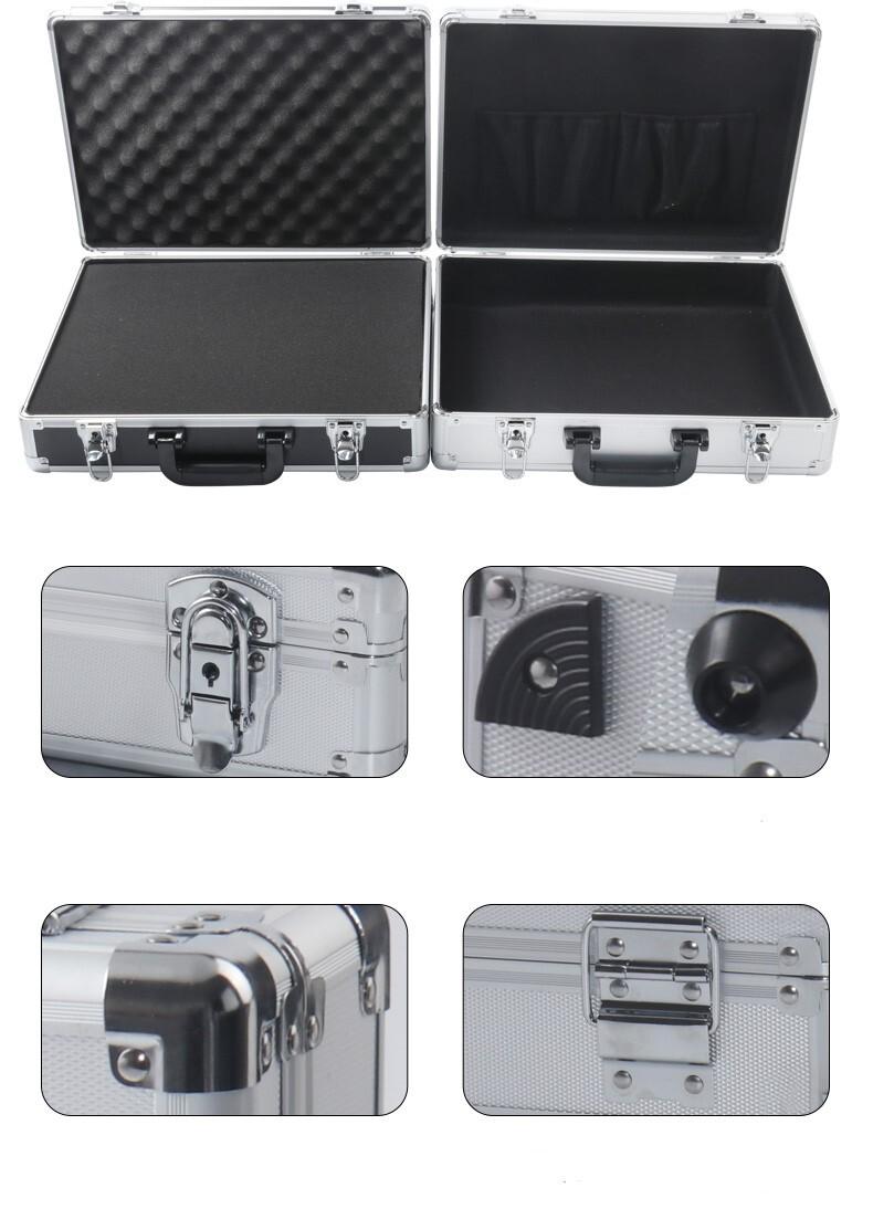 White Aluminum Box