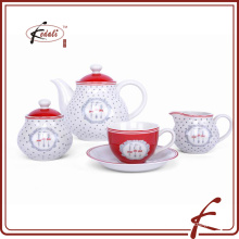 Louça de porcelana chinesa conjunto de louças de 4