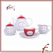 Китайская фарфоровая керамическая посуда набор из 4