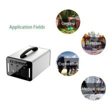 Generador solar para suministro eléctrico doméstico.