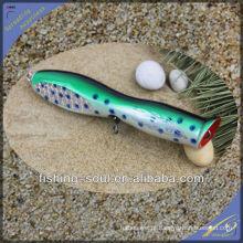WDL013 21 cm 90g Perfeito Qualidade Artificial de Água Salgada De Madeira Isca De Pesca