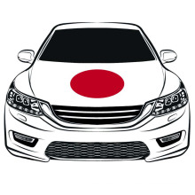 The World Cup100*150cm Japan Flag Car Hood flag Engine Flag Elastic Fabrics Can be Washed