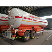 40000L 2 Axle LPG Gas Trailer Tanks