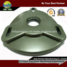 CNC Machining Aluminum Camber Plate Bearing Carrier with Anodized