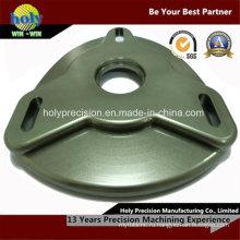 CNC подвергая механической обработке Алюминиевый развал пластины держателя подшипника с Анодированным