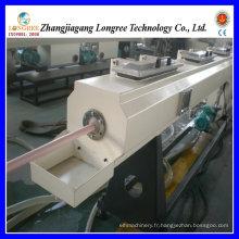 Chaîne de production de tuyau de grand diamètre de PVC, haute Qualiy et extrudeuse à haute production de tuyau