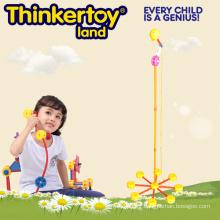 2015 Nouveaux jouets éducatifs pour enfants Bâtiments en plastique