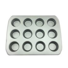 Muffin en acier au carbone, 12 tasses