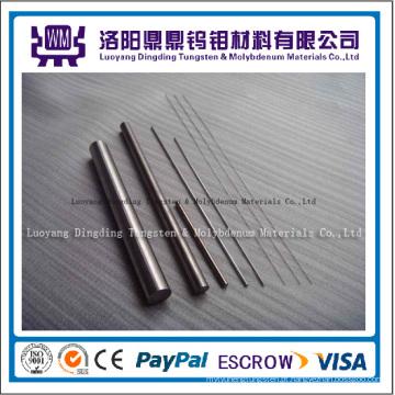 Hastes de tungstênio puro preço de fábrica 99.95% para venda