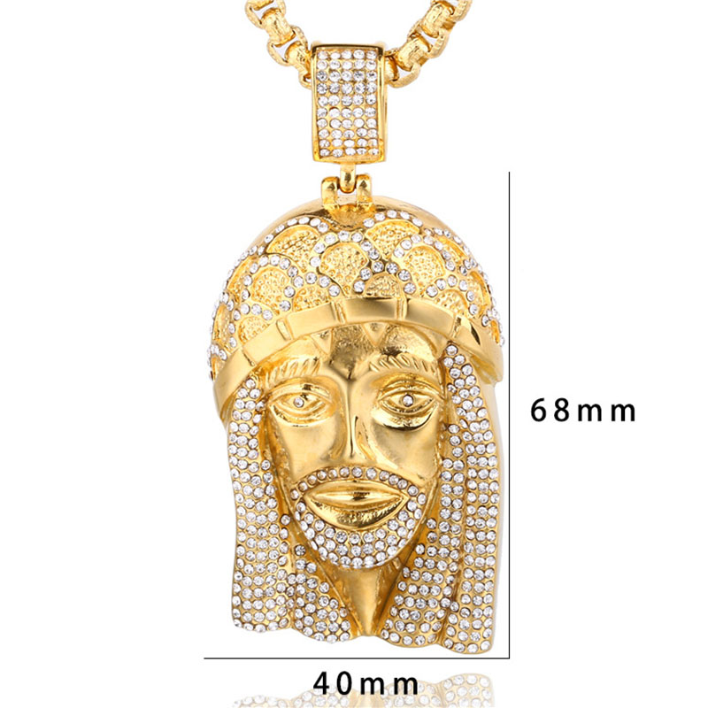 hip hop gold necklace
