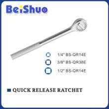 1/2′ 3/8′ 1/2′ Quick Release Ratchet Handle with Metal Handle