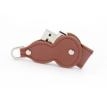 USB-флеш-накопитель в форме тыквы из кожи с подарками