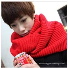 Winter Warm Acrylic Knitted Infinity Scarf (MU6605)