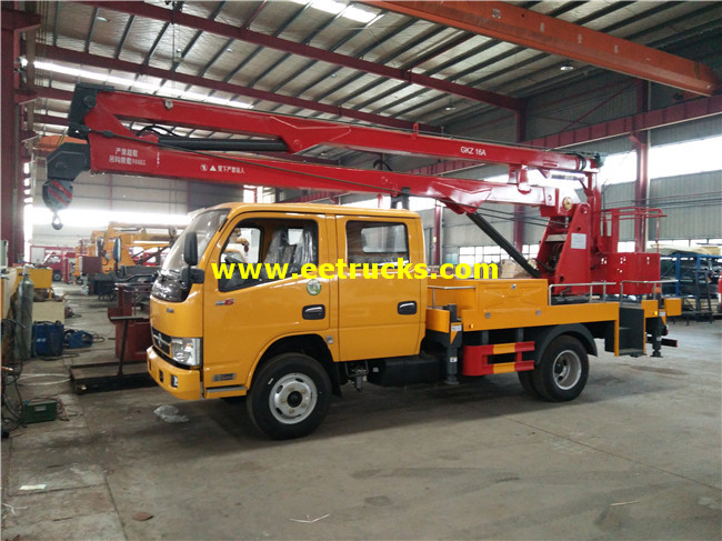 Dongfeng Aerial Bucket Trucks