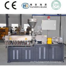 PLC control type lab double screw extrusion granulation line